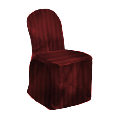 Chair Cover Regency Burgundy