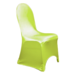 Chair Cover Lycra Apple Green