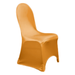 Chair Cover Lycra Orange
