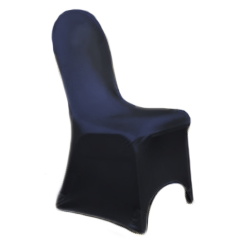 Chair Cover Lycra Navy