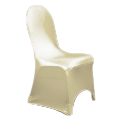 Chair Cover Lycra Ivory