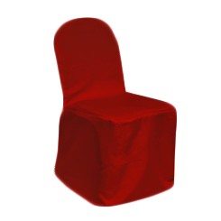Chair Cover Primary Red
