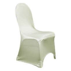 Chair Cover Lycra White