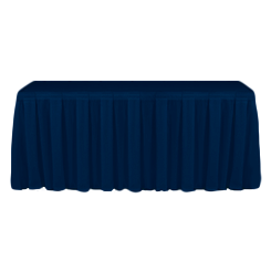 Table Skirting Primary Dark Navy one size 14ft