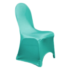 Chair Cover Lycra Turquoise