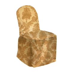 Chair Cover Bentley Gold