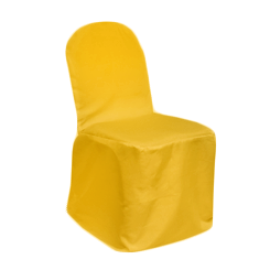 Chair Cover Primary Yellow