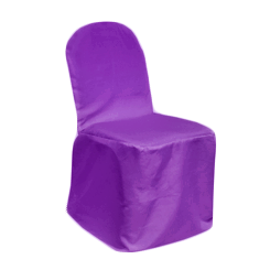 Chair Cover Primary Dark Lilac