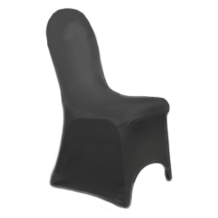 Chair Cover Lycra Black